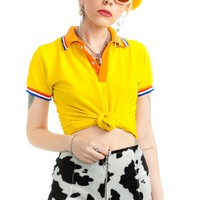 Vintage 80's The Brightest Crayon Polo Shirt - XS/S