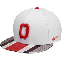 Nike Ohio State Buckeyes 2013 Rivalry True Snapback Adjustable Hat - White