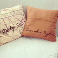 Dirty South Pillow