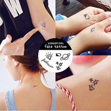 Original Design Waterproof Temporary Tattoo Stickers Korean small WS384