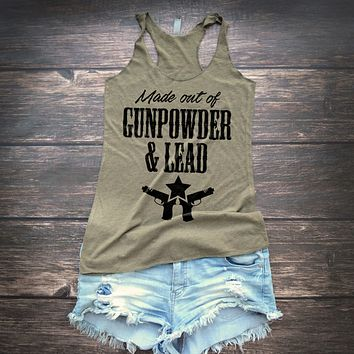 Gunpowder and Lead Miranda Lambert Tank Top