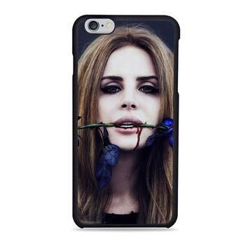 Lana Del Rey Rose On Her Lips Supreme iPhone 6 Case