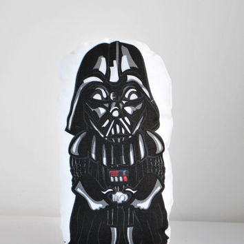 Darth Vader plush Star Wars illustration drawing miniature toy