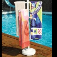 Poolside Towel Racks | Easy Home Concepts