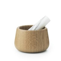Craft Mortar & Pestle white by Normann Copenhagen
