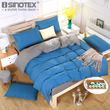 Poltester Fibre Sanding Solid Quilt Cover Bed Sheet Pillowcase Pillow Cover Bedding Set Decoration Bedroom Bed 39 Colors 5 Sizes