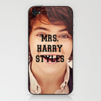 Mrs. Harry Styles iPhone & iPod Skin by Ian Layne | Society6