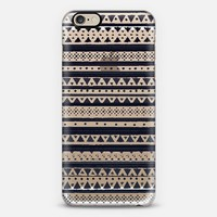 BLACK TRIBAL - CRYSTAL CLEAR PHONE CASE iPhone 6 case by Nika Martinez | Casetify