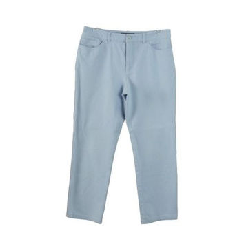 Peace of Cloth Panticular Baby Blue Cropped Cotton Pants Jeans Trousers Size 2