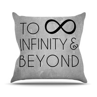 "KESS Original ""To Infinity & Beyond"" Outdoor Throw Pillow"