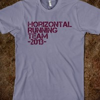 Fat Amy Horizontal Running Shirt - Down The Mainstream