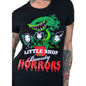 Pinky Star Little Shop of Beauty Horror Tee