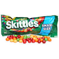 Skittles Candy King Size Packs - Orchards: 24-Piece Box
