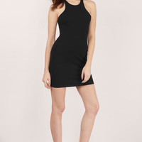 Race To The Top Cutout Dress