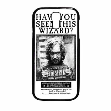 Sirius Black Wanted Poster Samsung Galaxy S4 Case