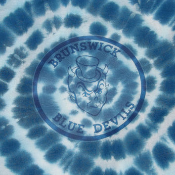 Custom Tie Dye School Logo Tapestry