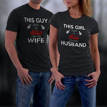 Couples T shirt, Funny Couple Shirts, Matching Shirts, His and Her Shirts, Husband Wife T Shirts