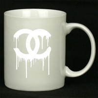 Chanel White For Ceramic Mugs Coffee *