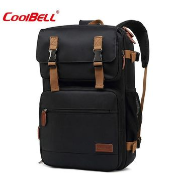 Cool Backpack school Coolbell Multifunction 17 inch Laptop Backpack for Teenager Business Male Men Travel Suitcase Bag Notebook Cover for Asus Acer D AT_52_3