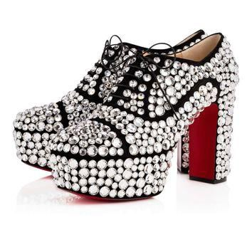 Royal Strass 110 Version Crystal Strass - Women Shoes - Christian Louboutin