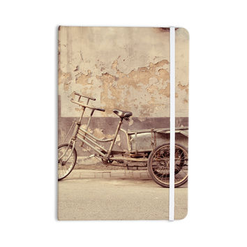 "Jillian Audrey ""The Gray Bicycle"" Brown Photography Everything Notebook"