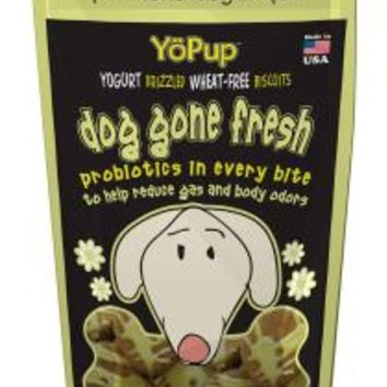 YoPup Dog Gone Fresh Odor Control Blend Biscuits, 7 oz Bag