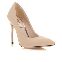Glam Nude Gold Heel - Shoes - New In