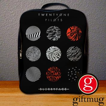 Twenty One Pilots Blurryface Cover Backpack for Student