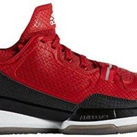 Adidas D Lillard 1 (Team Colors Pack) Red/Black/Grey