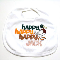 Duck Dynasty inspired Baby Bib Made to Order Unisex