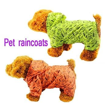 Windproof Pet Dog Clothes For Dogs Large Raincoat for dogs Coat Jacket Clothing for Small Dog Pug Clothe Roupa de Cachorro 50