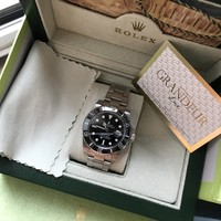 cc hcxx BIG DISCOUNT!! Rolex Submariner Black
