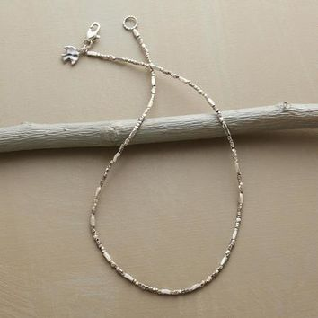Scintillating Silver Necklace