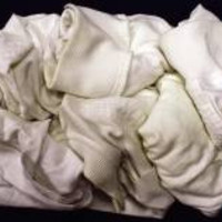 Special White Knit Cloth Rag 50 Pound