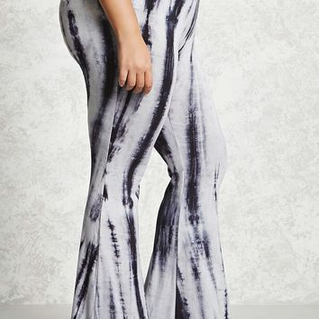 Plus Size Flared Leggings