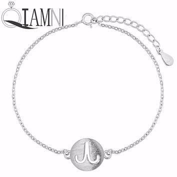 QIAMNI 925 Sterling Silver Virgo Taurus Libra Gemini 12 Zodiac Constellation Horoscope Astrology Bracelet Bangle Birthday Gift