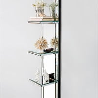 Statements by J Mirrored Shelf - Silver