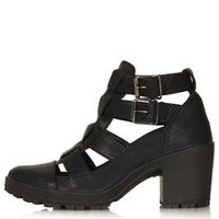 MEGA Cut Out Buckle Boots - New In This Week  - New In