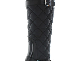 Michael Kors Fulton Harness Womens Quilted Tall Rainboots