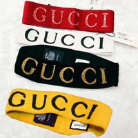 GUCCI Stylish Unisex Sport Crochet Knit Knitted Headwrap Headband Warmer Head Hair Band(5-Color) I