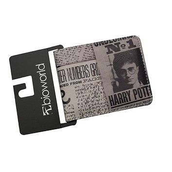 Hot High Quality Harry Potter Anime Wallet JAWS Fight Club Horror Moviles Mens Purse bolsa feminina Money Coin Bag Zipper Pocket