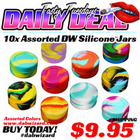 DAILY DEAL 04/07/2015 - 10x Assorted DW Jars - Colorful Mix