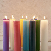 Crystal Journey Candles Pillar Candle - Urban Outfitters