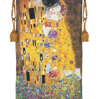 The Kiss by Klimt Tapestry Woven with Gold, Assorted Sizes