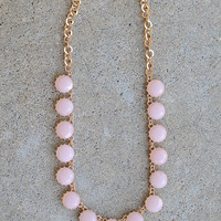 Petunia Necklace - Pink