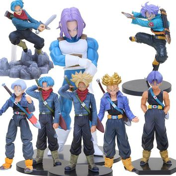 Dragon Ball Z Super Saiyan Trunks Soul Figure dragonball DXF Resolution of Soldiers Volume 5 Trunks figure collectible model toy