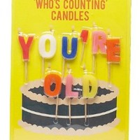NPW Who's Counting Candles You're Old