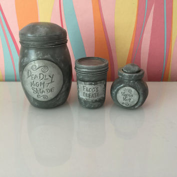 The Nightmare Before Christmas Sally the Ragdoll Potion Jars
