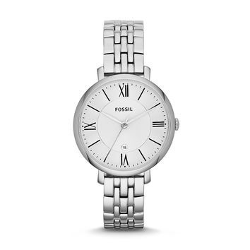 Jacqueline Watch, Silver