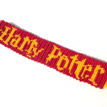 Harry Potter Handmade Friendship Bracelet